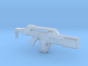 M41A Aliens Pulse Rifle 28mm in Smooth Fine Detail Plastic