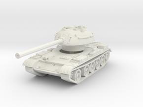 T-54 Mod. 1953 1/87 in White Natural Versatile Plastic