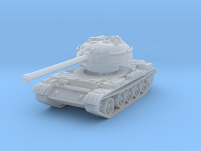 T-54 Mod. 1953 1/144 in Smooth Fine Detail Plastic