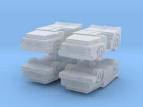 MD-3 Tow Tractor (x4) 1/200 in Smooth Fine Detail Plastic
