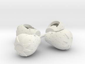 BGR Tubs in White Natural Versatile Plastic