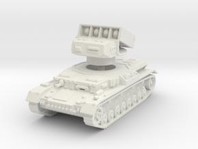 Panzer IV Raketenwerfer 1/120 in White Natural Versatile Plastic