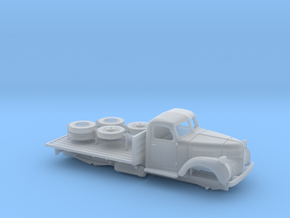 OO - 1:76 Dodge Flatbed in Smooth Fine Detail Plastic