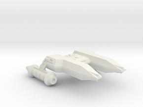 3125 Scale LDR Heavy Frigate (HFF) CVN in White Natural Versatile Plastic