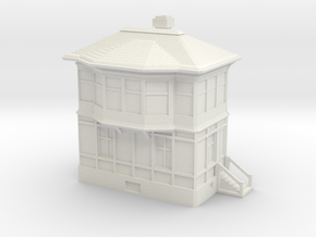 Railway Signal Tower 1/76 in White Natural Versatile Plastic