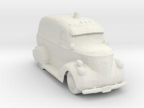 1949 Ambulance 1:160 Scale in White Natural Versatile Plastic