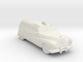 1947 Ambulance 1:160 Scale in White Natural Versatile Plastic