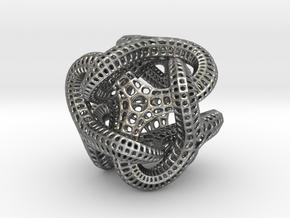 Trilio Eiffel Twist - 30mm in Raw Silver