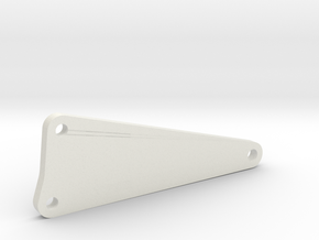 Ladder Arm for RC AMC Gremlin Drag Car in White Natural Versatile Plastic