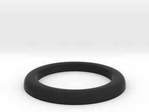 Front Tire Half for 1/25 RC AMC Gremlin  in Black Natural Versatile Plastic