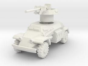 Sdkfz 221 2.8cm sPzB 41 1/76 in White Natural Versatile Plastic