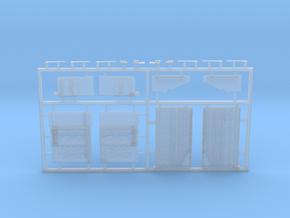 M1165 Army GMV - cargo walls in Smooth Fine Detail Plastic