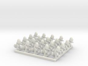 Squirtle Squad  in White Natural Versatile Plastic