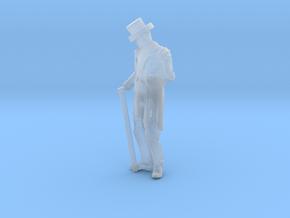 S Scale Fancy Dan in Smooth Fine Detail Plastic