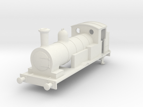 b-100-lswr-beattie-well-tank-square-loco in White Natural Versatile Plastic