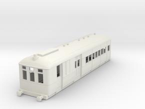 o-87-renfe-sentinel-railmotor in White Natural Versatile Plastic