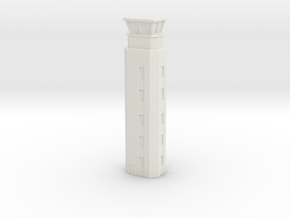 Airport ATC Tower 1/500 in White Natural Versatile Plastic