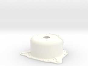 "1/8 Lenco 7.5"" Dp Bellhousing (No Starter Mnt) in White Strong & Flexible Polished"