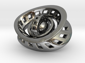 RingX in Polished Silver: Small