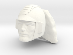 Rokkon Head in White Processed Versatile Plastic