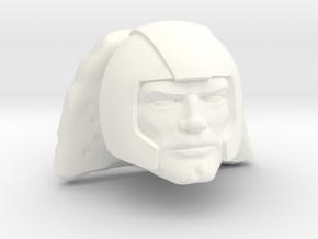 Stonedar Head in White Processed Versatile Plastic