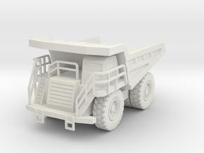 CAT 777F Dump Truck 1/76 in White Natural Versatile Plastic