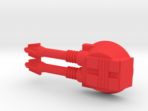 Starcom - Sixshooter - Laser gun in Red Processed Versatile Plastic