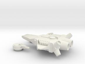 Skyray Aerospace Fighter(Hornet) in White Natural Versatile Plastic