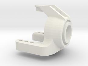 tamiya astute rear hub reinforced in White Natural Versatile Plastic