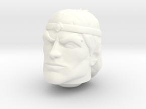 Vokan Head VINTAGE in White Processed Versatile Plastic