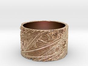 Fibres Ring Size 7 in 14k Rose Gold