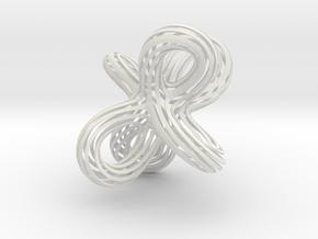 Super Twist in White Natural Versatile Plastic