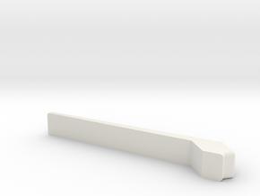 Schnellboot Torpedo Door Lock 20th in White Natural Versatile Plastic