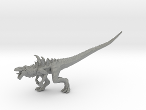 Godzilla Zilla miniature kaiju monster fantasy rpg in Gray PA12