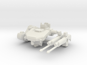 1:144 Tekkadan Command Mobile Worker Gundam: IBO in White Natural Versatile Plastic
