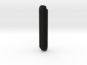 1:25 Scale D9T Track. Joined 20 inches (x2) in Black Natural Versatile Plastic
