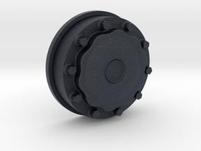 Nabendeckel VA für Lkw-Felge passend zu ScaleART in Black PA12