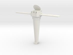 Miniature NASA Chandra X-Ray Observation - 10cm in White Natural Versatile Plastic