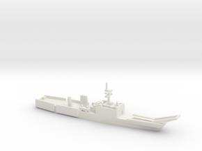 Newport-class LST, 1/1250 in White Natural Versatile Plastic