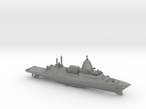 Hunter Class Frigate (Full Hull) in Gray PA12: 1:700