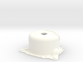 "1/8 Lenco 8.125"" Dp Bellhousing (With Starter Mnt) in White Strong & Flexible Polished"