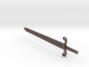 swordSW in Polished Bronzed Silver Steel