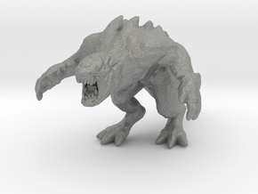 Hekaton 54mm miniature kaiju monster fantasy rpg in Gray PA12
