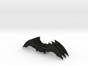 Arkham Asylum Batarang (3 pieces bundle) in Black Natural Versatile Plastic