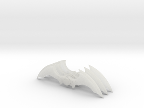Arkham Asylum Batarang (3 pieces bundle) in Smooth Fine Detail Plastic