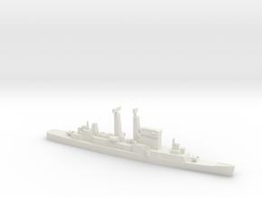 Albany-Class Cruiser w/ Polaris, 1/1250 in White Natural Versatile Plastic
