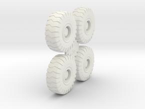 Grove RT745 Crane Tires in White Natural Versatile Plastic