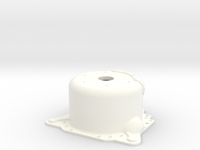 "1/12 Lenco 8.625"" Dp Bellhousing(With Starter Mnt) in White Strong & Flexible Polished"