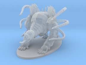 Maul Demon Mech 6mm Epic infantry model chaos rpg in Smooth Fine Detail Plastic