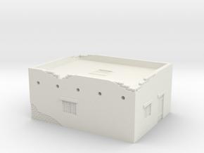 Desert House 1/87 in White Natural Versatile Plastic